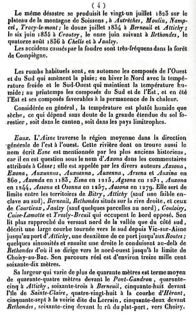 Album - le canton d'Attichy (Oise), son Histoire (1ére partie)