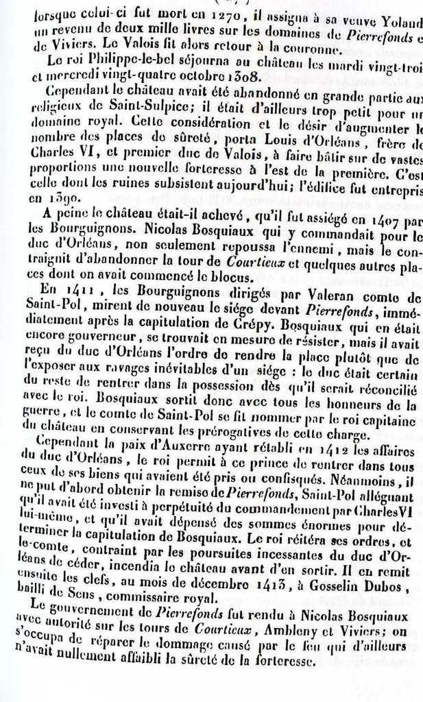 Album - le village de Pierrefonds (Oise), son Histoire