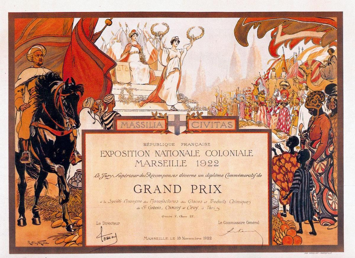 Album - groupe Saint-Gobain, Historique de la Manufacture des Glaces de Saint-Gobain