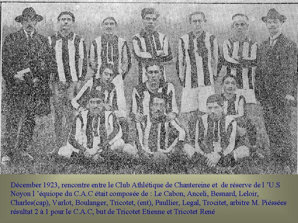Album - Chantereine, les activités sportives le football (1)