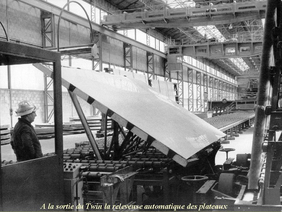 Album - Chantereine, l'atelier, le Twin 'B', son exploitation