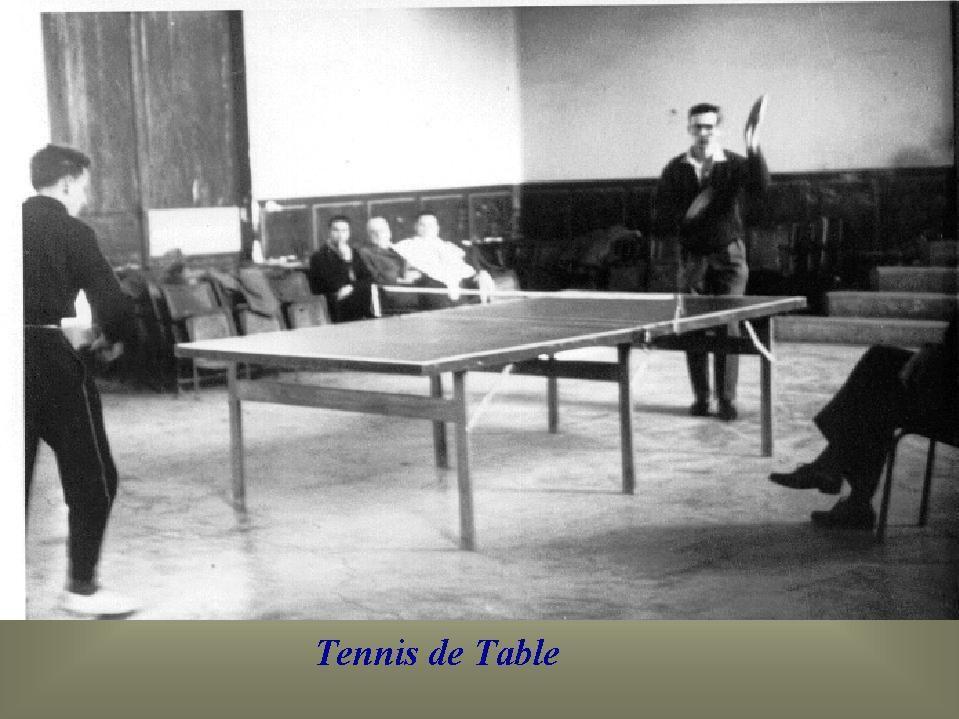 Album - Chantereine, les activités sportives, le tennis de table