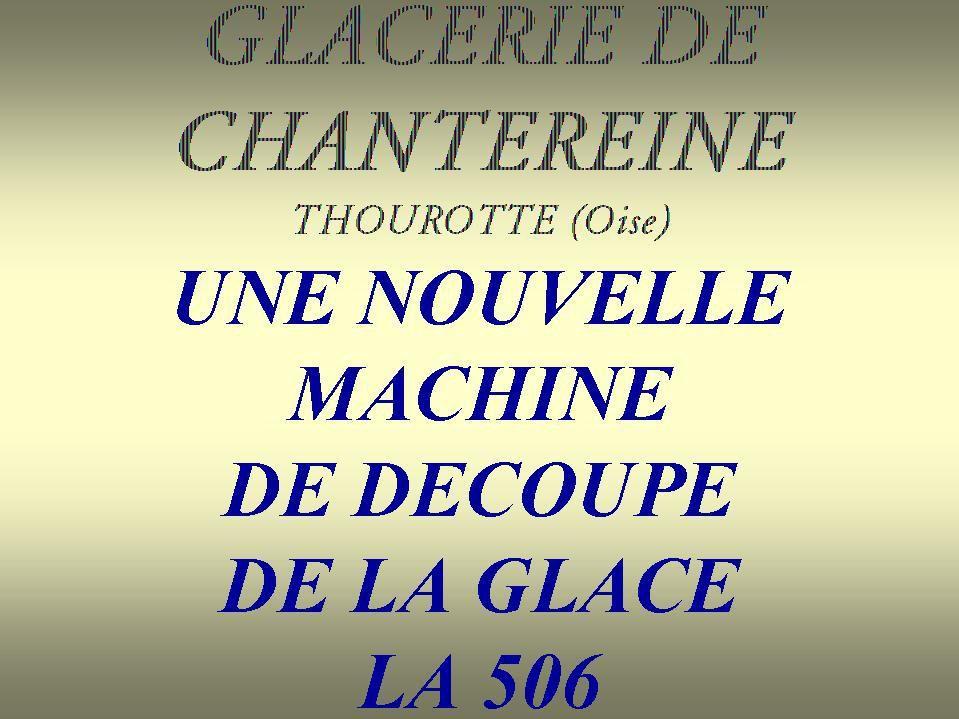 Album - Chantereine, les ateliers 505 et 506