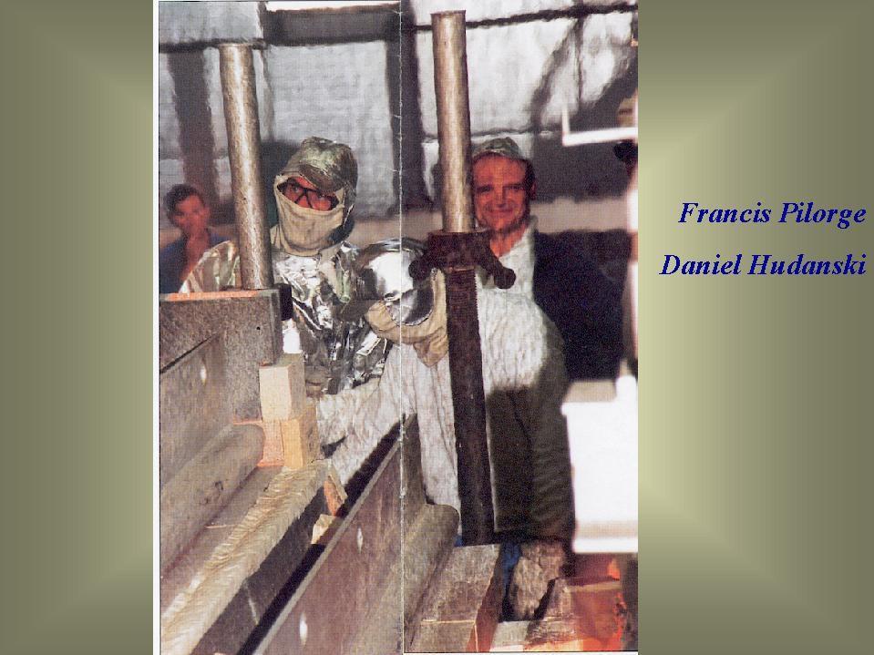 Album - Chantereine, le Float-Glass, le lancement du fil d'Ariane