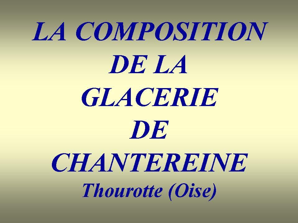 Album - Chantereine, l'atelier la Composition