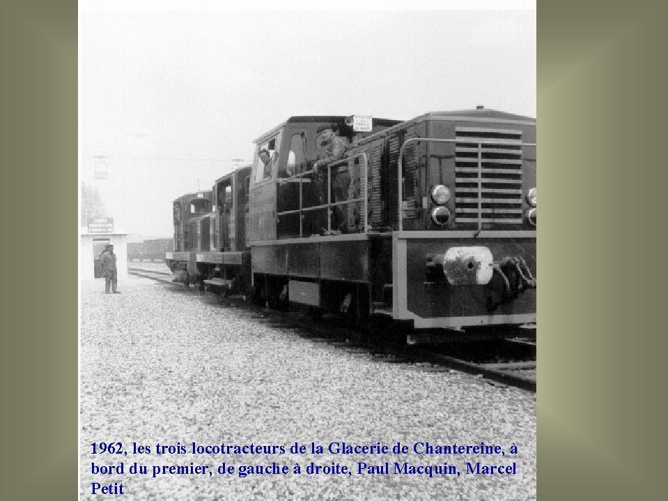 Album - Chantereine, les transports par Fer