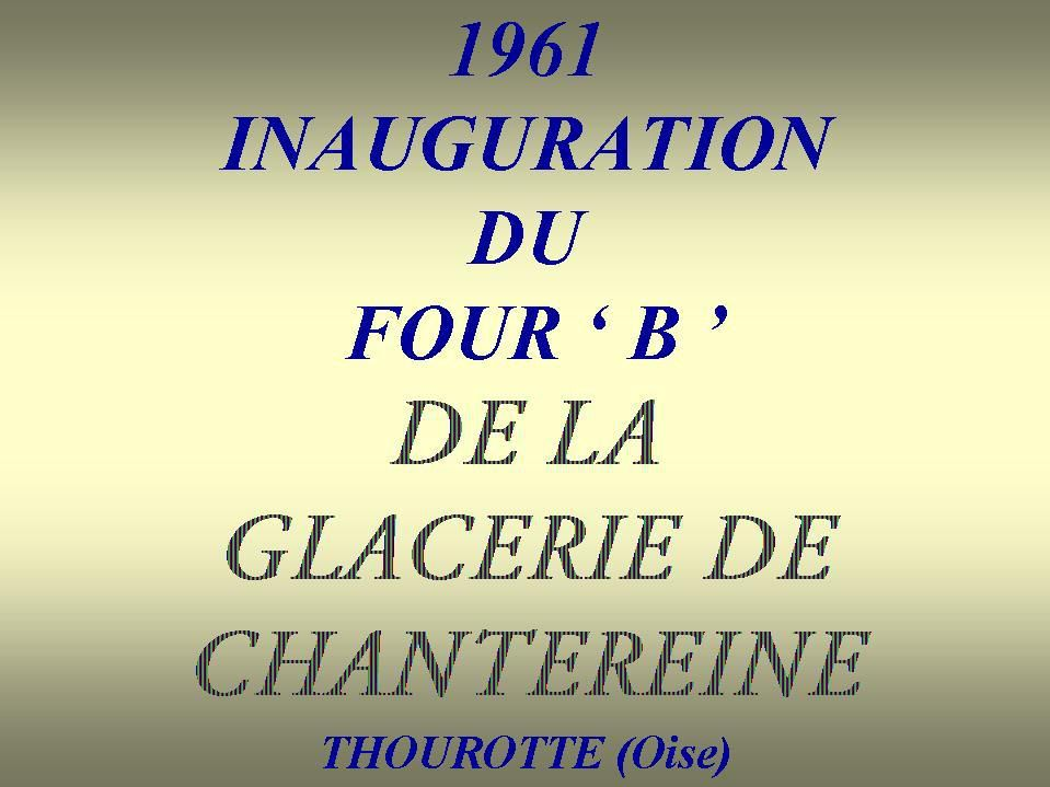 Album - Chantereine, le four 'B', son inauguration