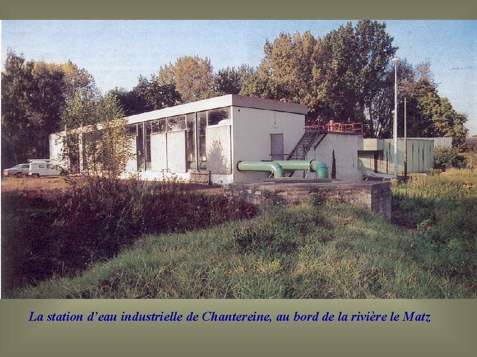 Album - Chantereine, l'atelier, la station d'eau industrielle