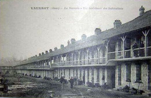 Album - groupe Saint-Gobain, la verrerie de Vauxrot (Aisne)