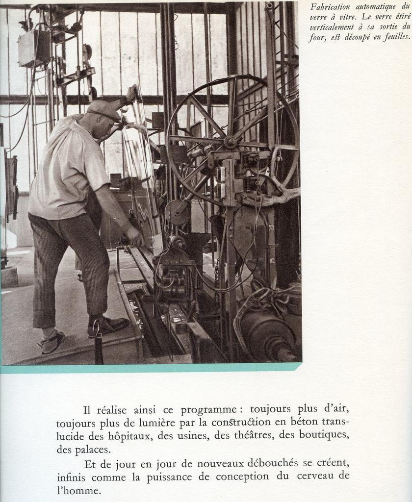 Album, groupe Saint-Gobain, 1937 le livre de l'exposition