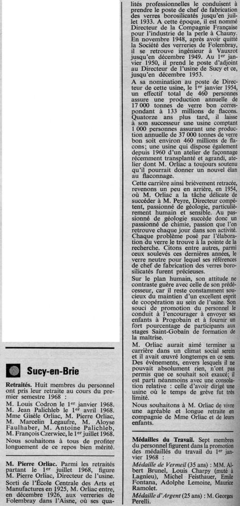 Album - Groupe Saint-Gobain, les verreries du Bugey, de Sucy-en-Brie et Saint-Just-sur-Loire