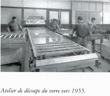 Album - groupe Saint-Gobain, l'usine de Longjumeau