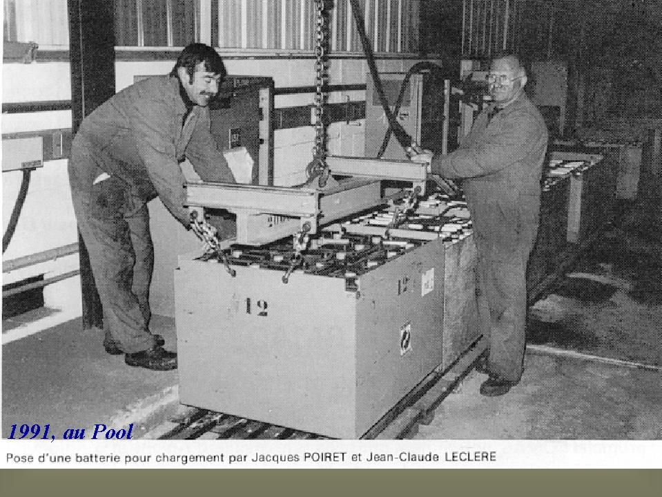Album - Chantereine, l'atelier Spool et engins de manutentions