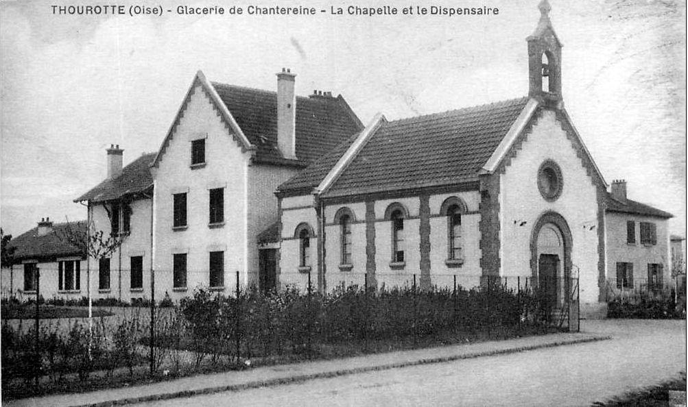 Album - Chantereine, la chapelle, les Soeurs et le patronage