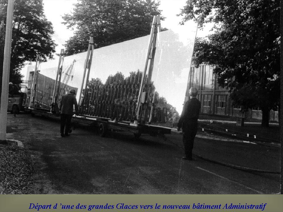 Album - Chantereine, installation d'une Glace au rez de jardin du bureau central
