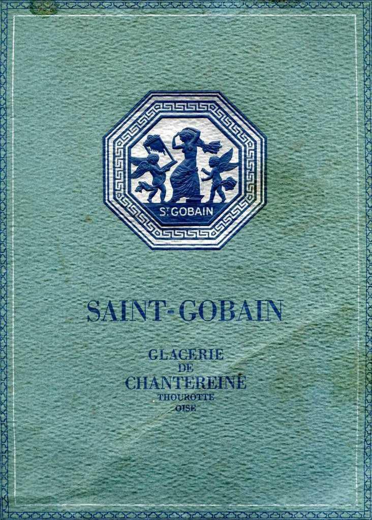 Album - Chantereine, 1926, présentation de la Glacerie et son effectif en 1947