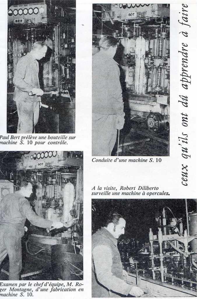 Album - groupe Saint-Gobain, la verrerie de Châlon-sur-Saône