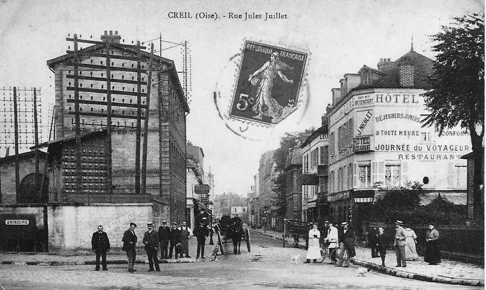 Album - la ville de Creil (Oise), les places, les rues