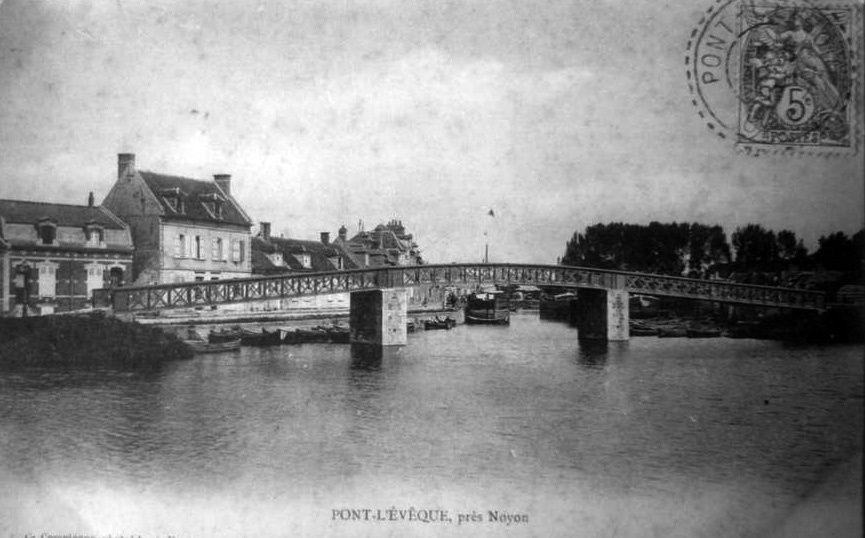 Album - le village de Pont-l'Evêque (Oise), le canal, le port, le pont