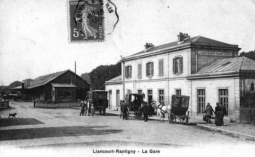 Album - la ville de Rantigny (Oise), les places, les rues, la gare