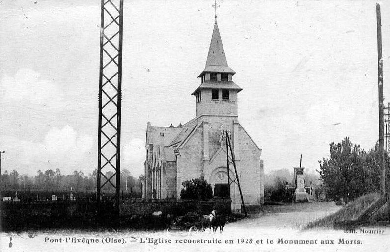 Album - le village de Pont-l'Evêque (Oise)