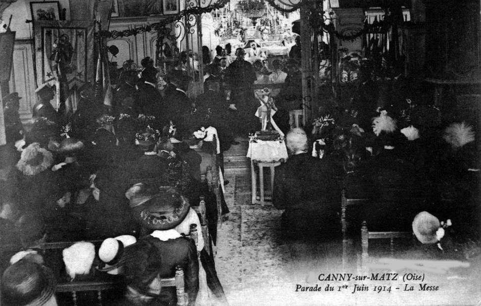 Album - le vilage de Canny-sur-Matz (Oise), son Histoire