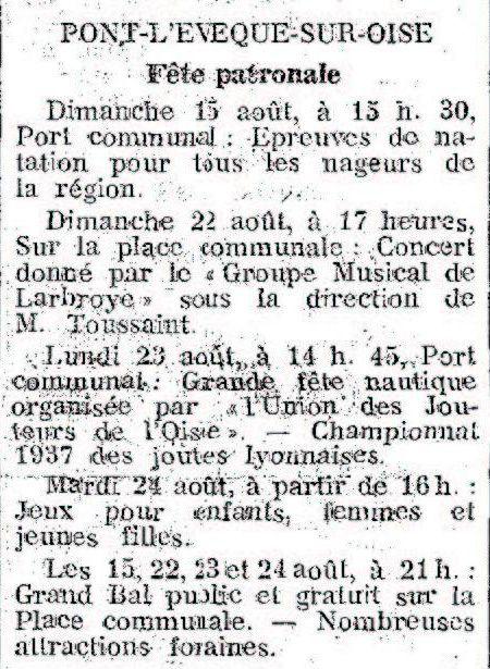Album - le village de Pont-L'Evêque, son Histoire et la Guerre
