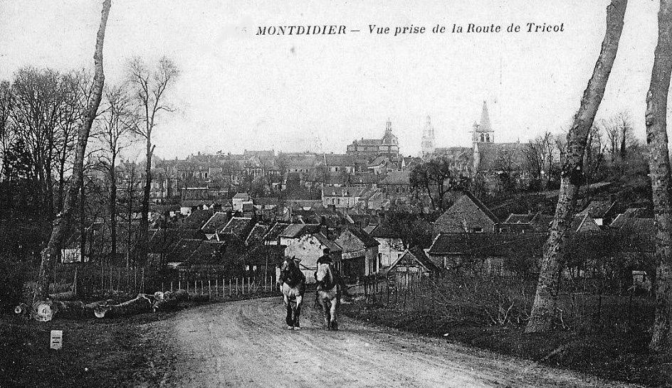 Album - La ville de Montdidier (Somme)