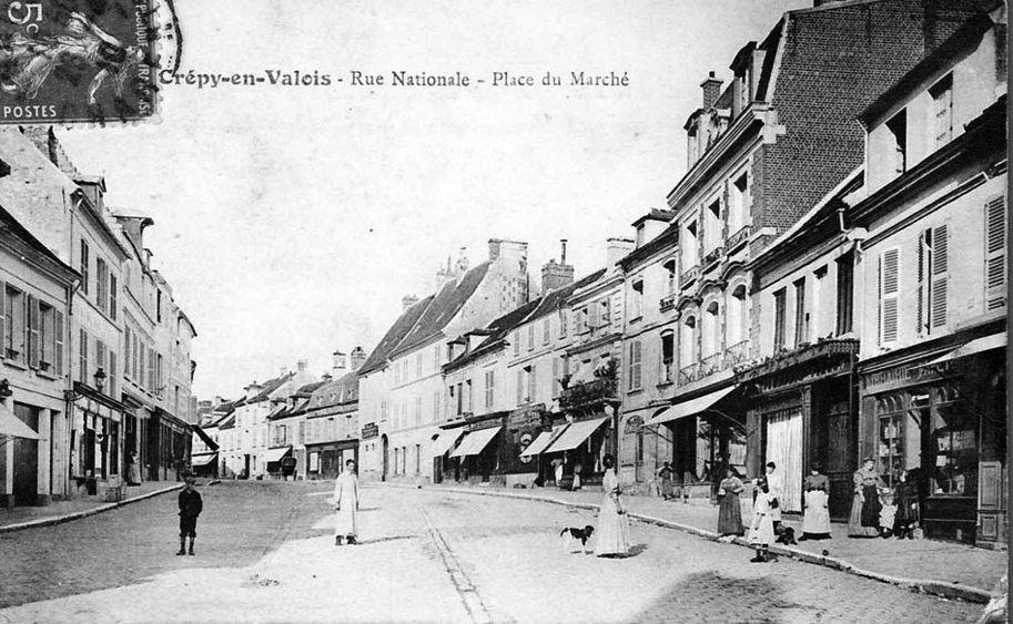 Album - la ville de Crépy-en-Valois (Oise), les rues et avenues
