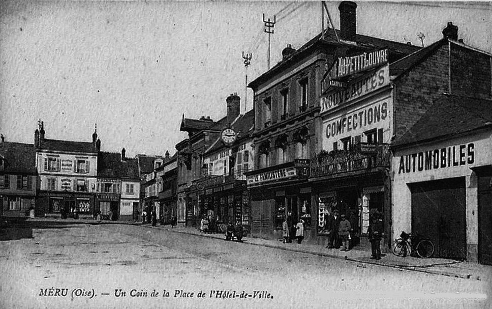 Album - la ville de Méru (Oise), les rues, les places