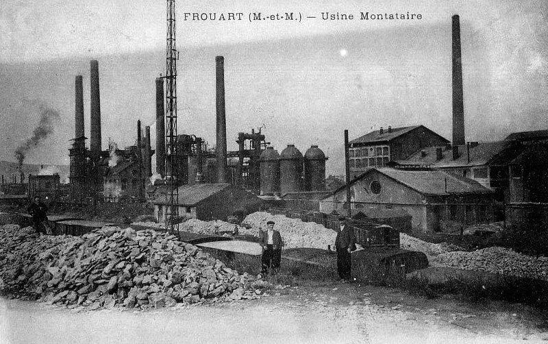 Album - la ville de Montataire (Oise), les usines