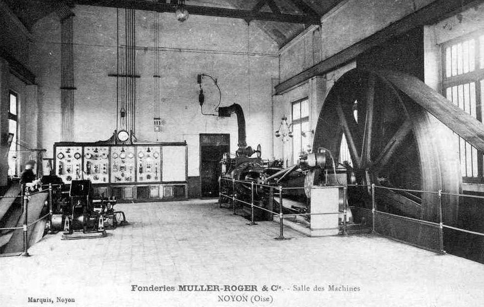 Album - la ville de Noyon (Oise), la fonderie
