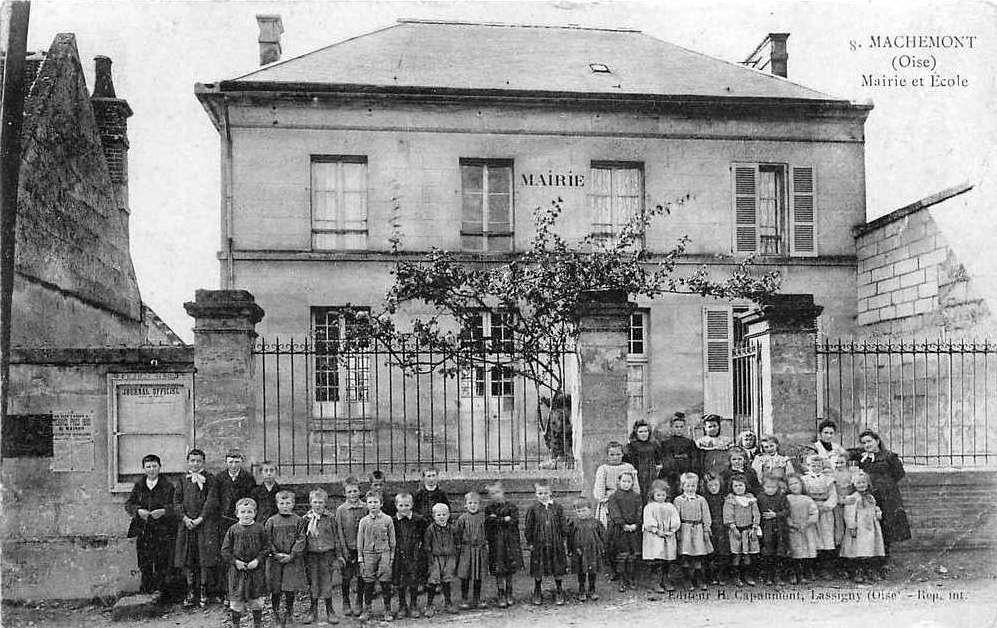 Album - le village de Machemont (Oise), l'école