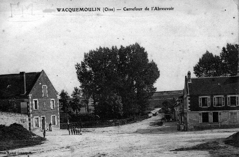Album - le  village de Wacquemoulin (Oise)