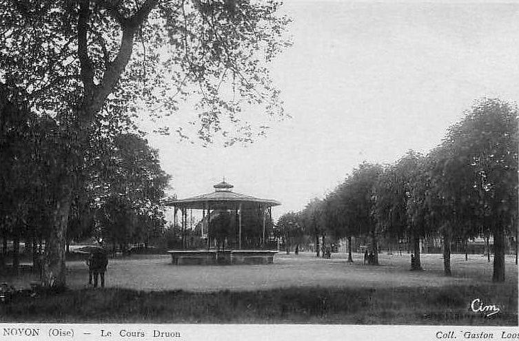 Album - la ville de Noyon (Oise), le Kiosque