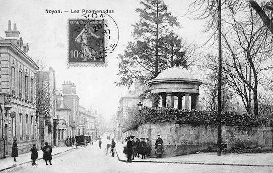 Album - la ville de Noyon (Oise), les boulevards et avenues