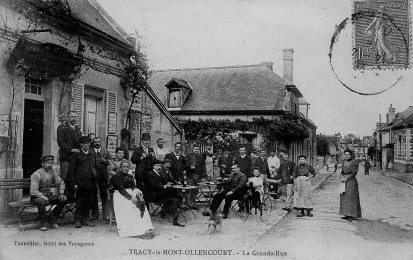 Album - le village de Tracy le Mont (Oise), les rues
