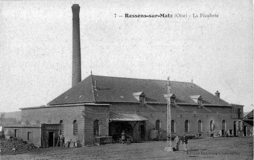 Album - le village de Ressons sur Matz (Oise)