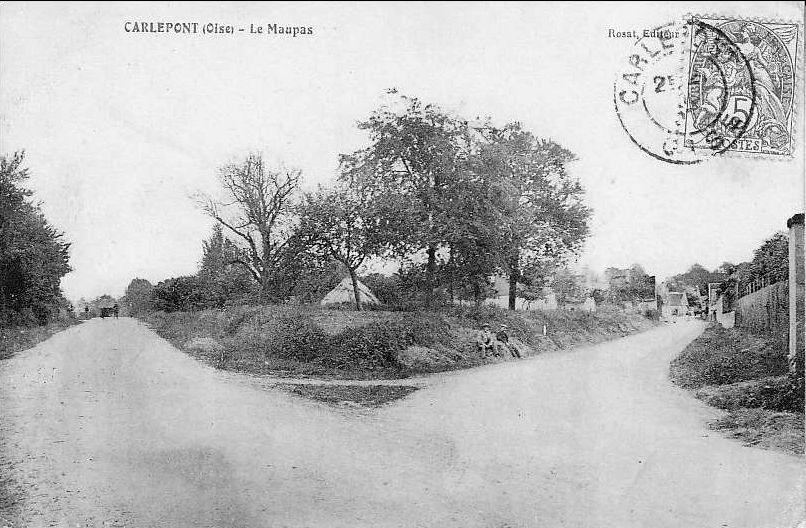 Album - le village de Carlepont (Oise), le château, le huleux, le maupas, la belhourde, le frémont