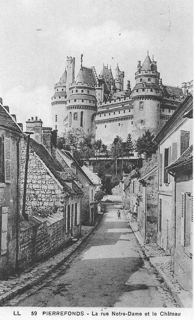 Album - le village de Pierrefonds (Oise), les rues