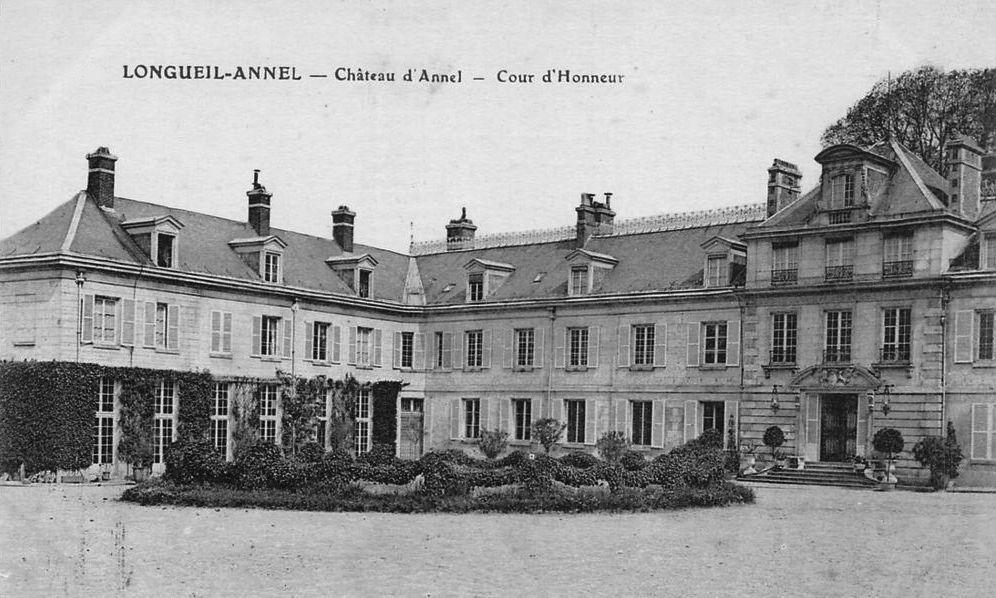 Album - Le village de Longueil-Annel (Oise), le Château d'Annel, son Histoire