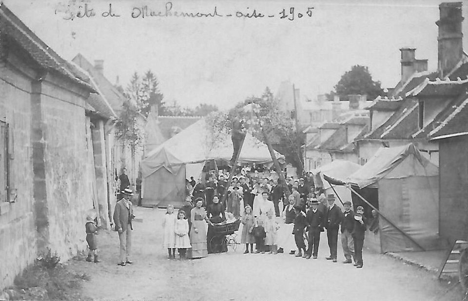 Album - le village de Machemont (Oise)