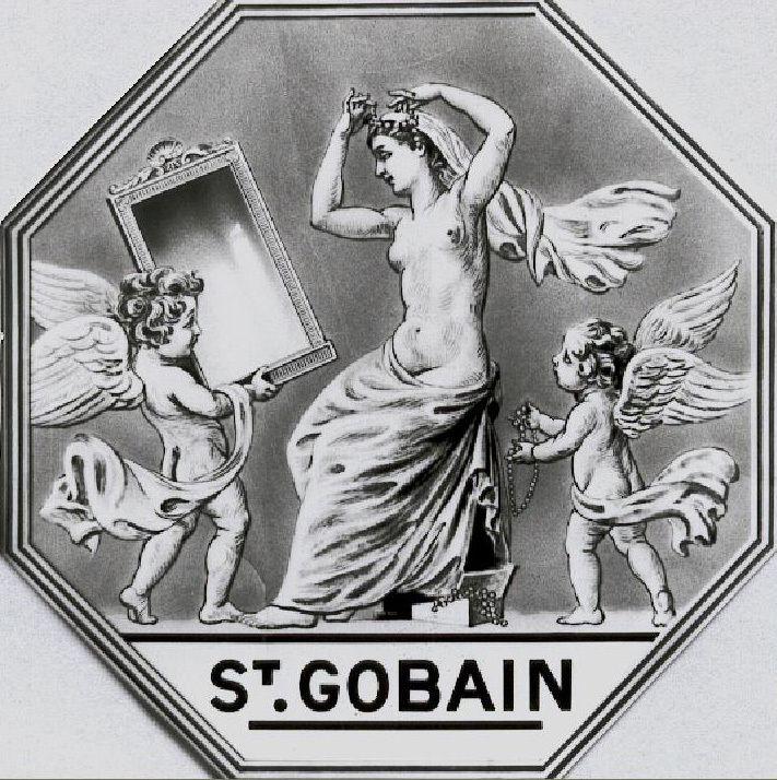 Album, groupe Saint-Gobain, la Glacerie d'Arija ( Espagne), la production de la Glace