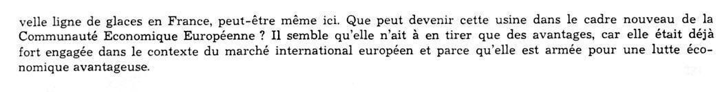 Album - Chantereine, 1968, une étude sur la Glacerie