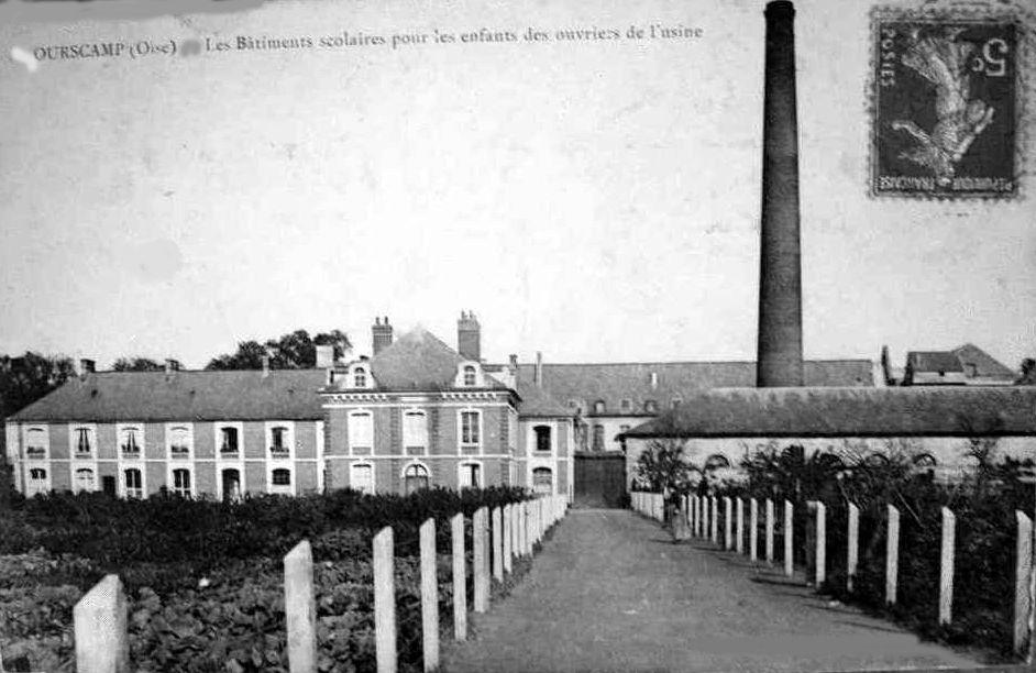 Album - le village d'Ourscamp (Oise), sa filature et sa boulangerie