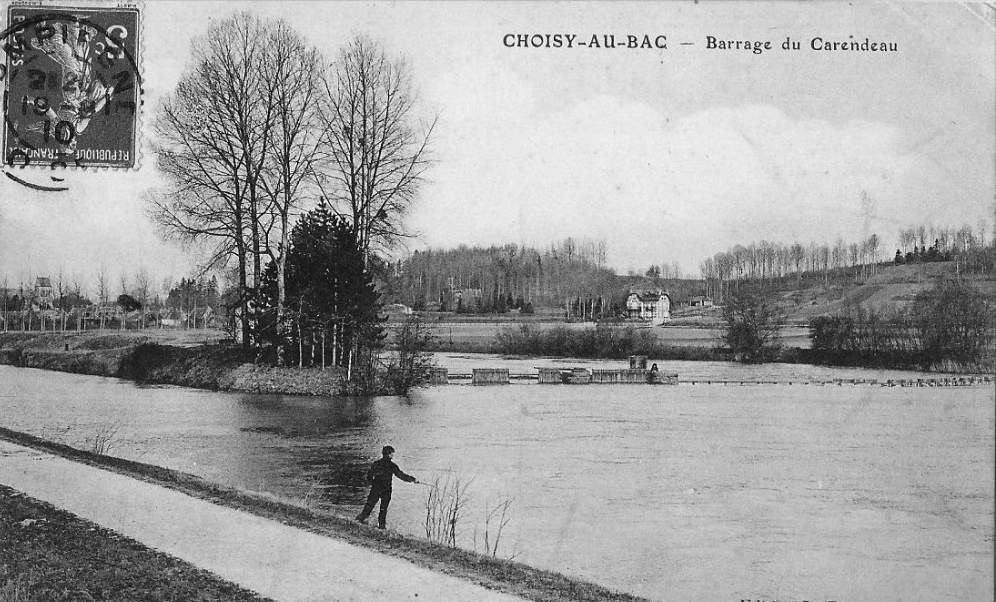 Album - le village de Choisy-au-Bac (Oise), le pont, la riviére