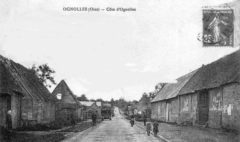 Album - le village d'Ognolles (Oise)