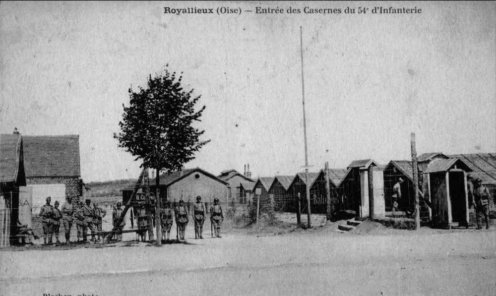 Album - la ville de Compiègne (Oise), la caserne de Royalieu