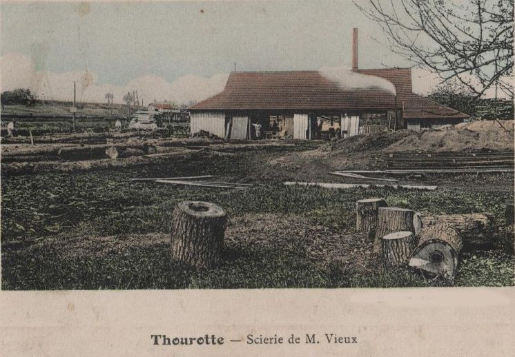 Album - le village de Thourotte (OIse), les industries