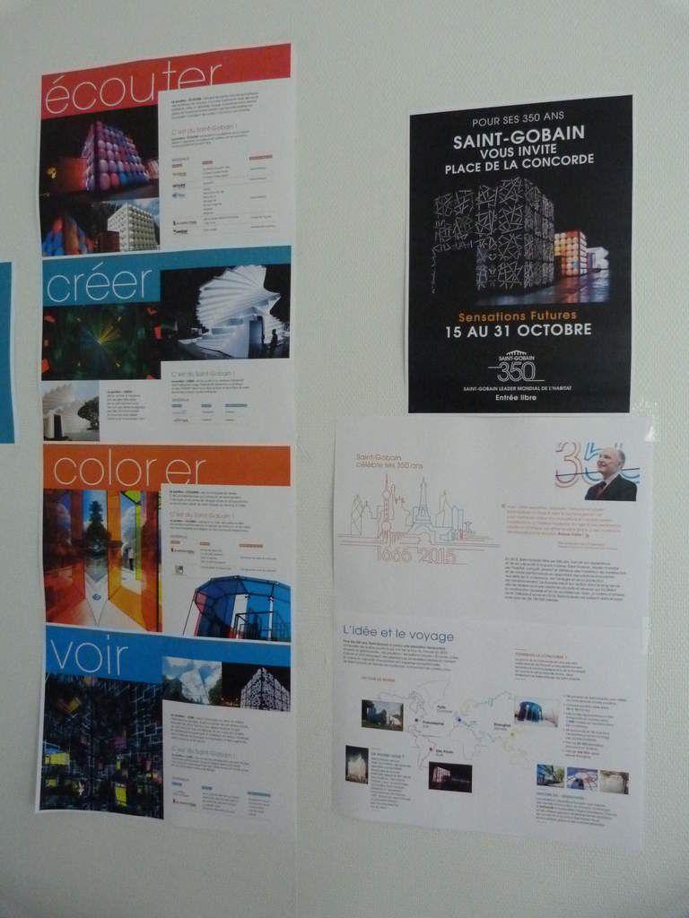 Album - 2015, Saint-Gobain, la présentation de l'ensemble de l'exposition de la Glacerie de Chantereine du 12 au 17 octobre 2015
